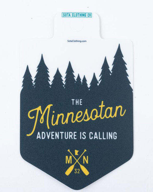 Minnesotan Sticker