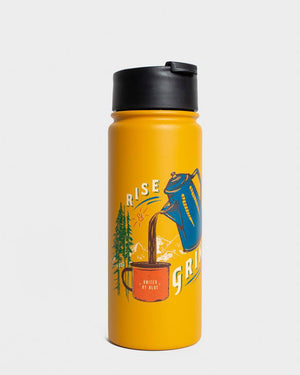 Rise & Grind 18 oz. Insulated Steel Travel Bottle