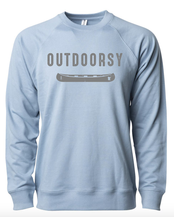 Outdoorsy Crew Neck Sweatshirt
