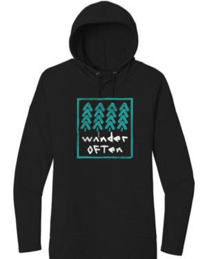 Wander Often Hooded Long Sleeve
