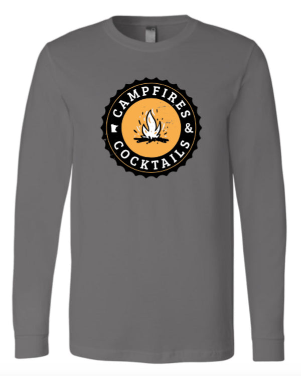 Campfires & Cocktails Long Sleeve