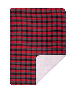 Flannel Sherpa - Buffalo Plaid