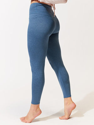 Monica Hi-Waisted 7/8 Legging - Heather Breakwater