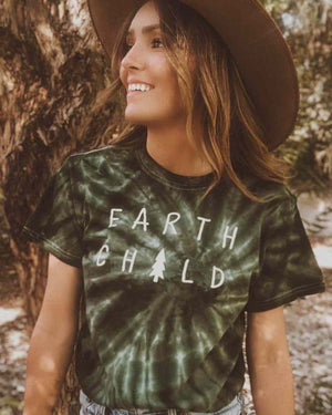 Earth Child Camo Tee