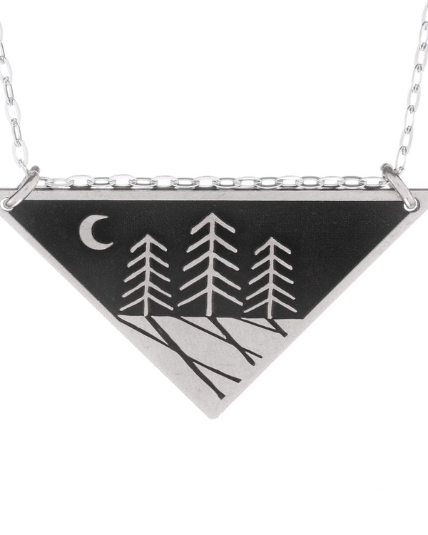 Zen Night Forest Necklace