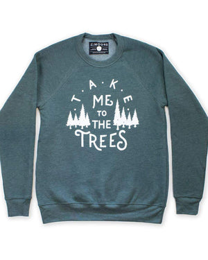 The Trees Crew Neck Sweatshirt