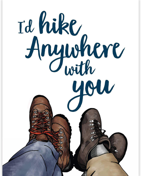 Hike Anywhere Card