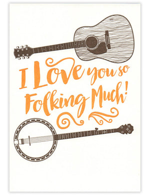 Folking Love Card