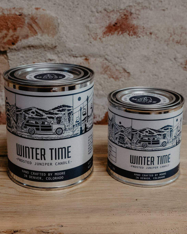 Winter Time Candle-1/2 Pint