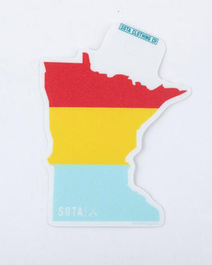 State Ombre Sticker