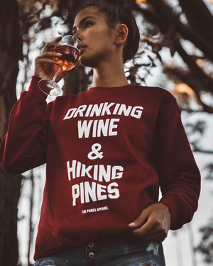 Wine & Pines Crewneck