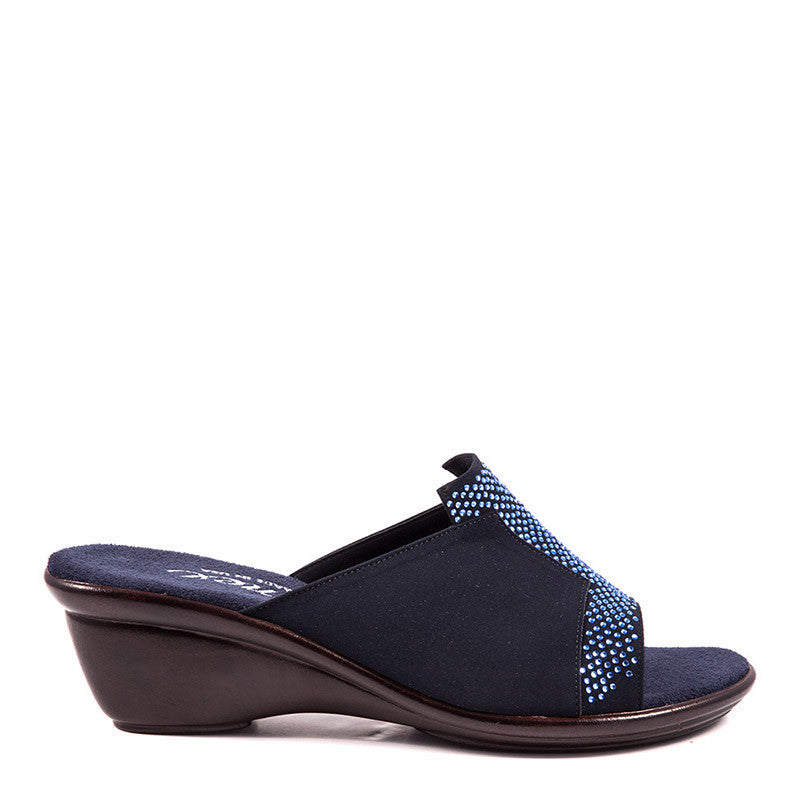 Onex Shoes Andi, Navy Wedge