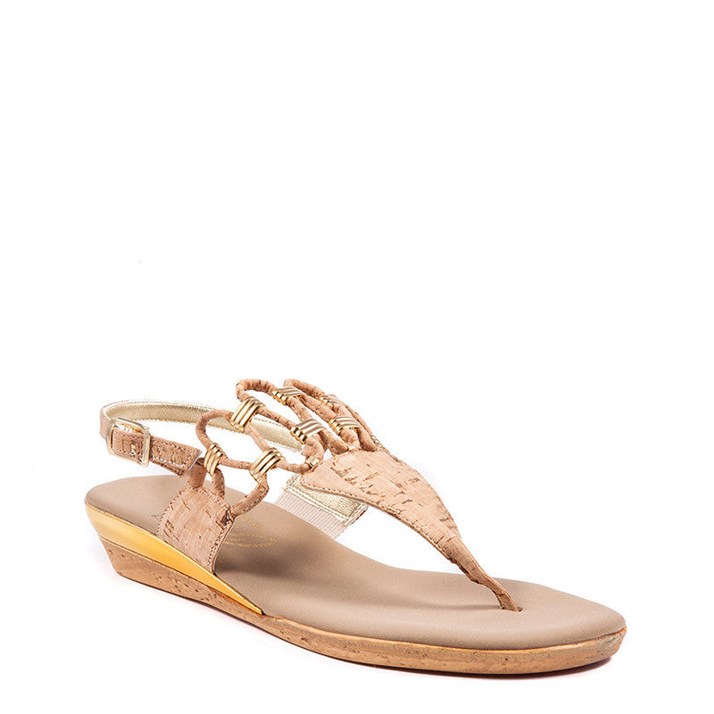 Onex Holly Sandal In Beige By Onex Shoes