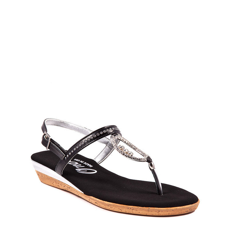 Rolo Onex Sandal In Black By Onex Shoes