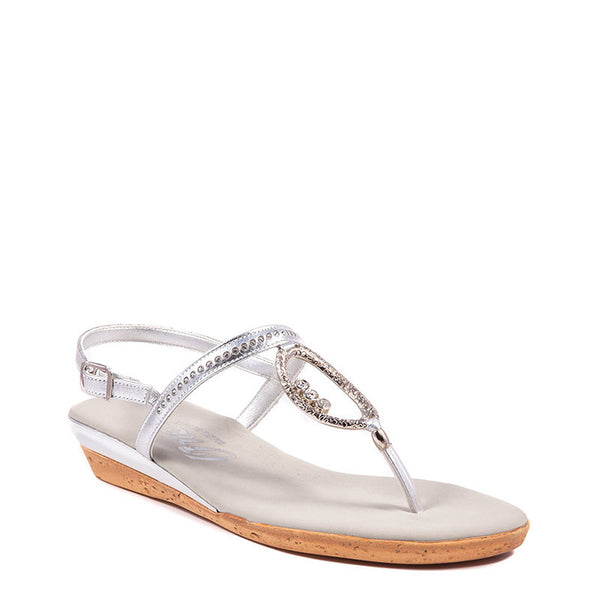 Rolo Onex Sandal In Silver By Onex Shoes