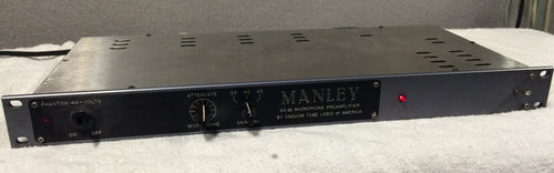 Manley Mono Pre (used) VINTAGE ORIGINAL VERSION RARE HAND BUILT