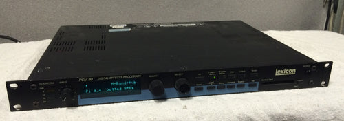 Lexicon PCM 80 Digital Effects Processor (used)
