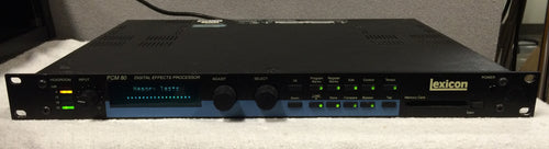 Lexicon PCM 80 Digital Effects Processor 2 of 2 (used)