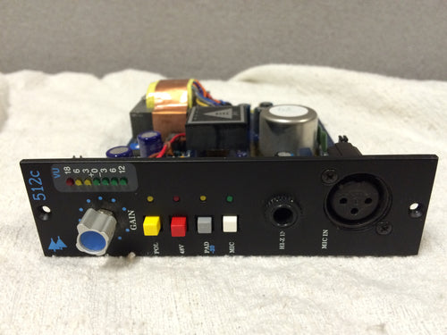 API 512c 500 Series Mic Pre Amp 1 of 2 (used)