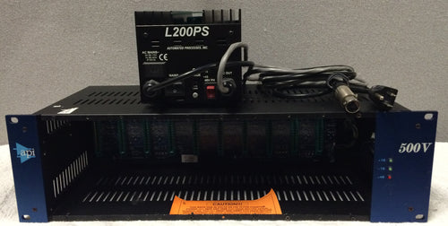 API 500V  500 Series 10-slot 3U rack mountable chassis (used)