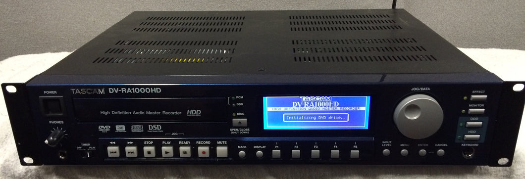 Tascam DV-RA1000HD High-Definition CD, DVD, and Hard Drive Recorder
