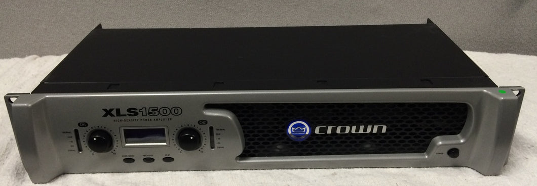 Crown DriveCore XLS1500 Power Amplifier (used)