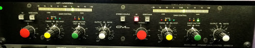 GML 8900 2 Channel Dynamic Range Controller with 9015 Power Supply (used)