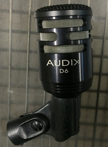 Audix D6 Dynamic Microphone (used)