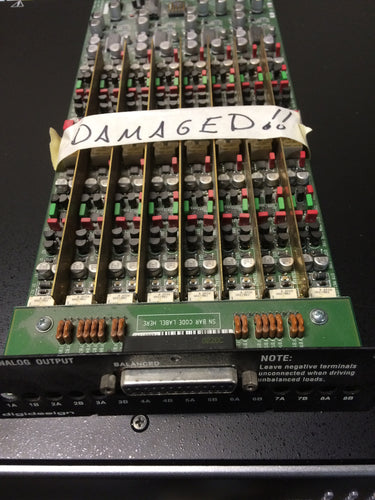 Avid Digidesign 192 Analog Output Expansion CARD For Parts (used)