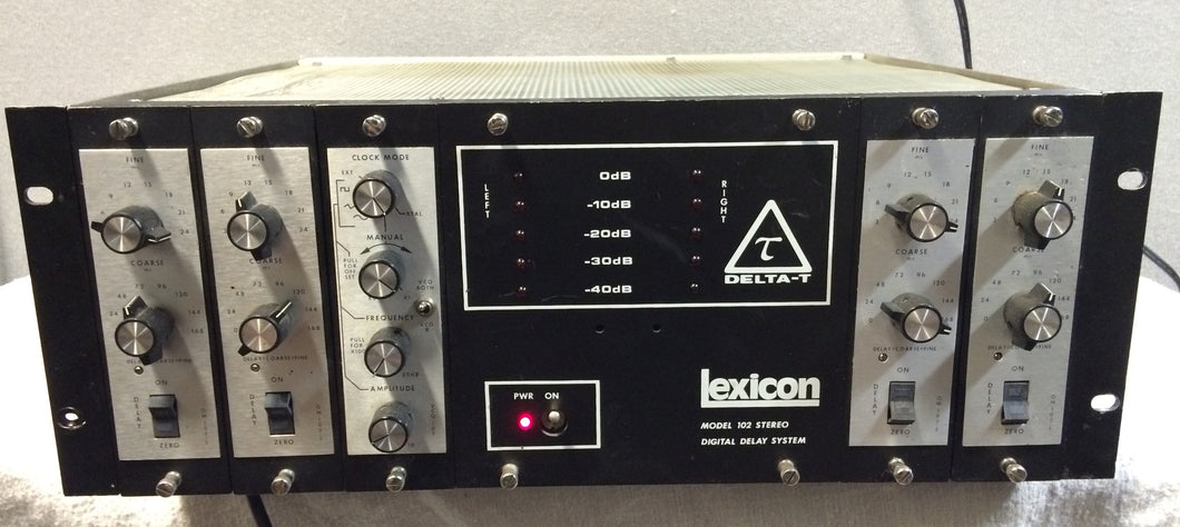 Lexicon Delta T 102 Digital Delay Vintage Original (used)