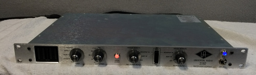 Universal Audio 2192 Master Digital Audio Interface (used)