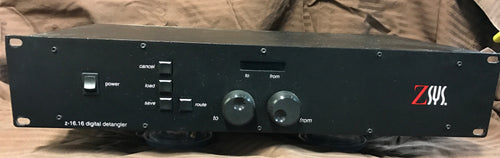 Z-Sys Z-16.16 Digital Detangler XLR BNC TOSlink SPDIF 4:2:10 Audio Router Switch (used)