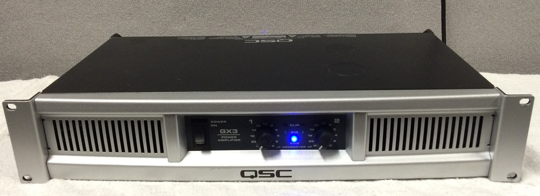 QSC GX3 300-Watt Power Amplifier (used)