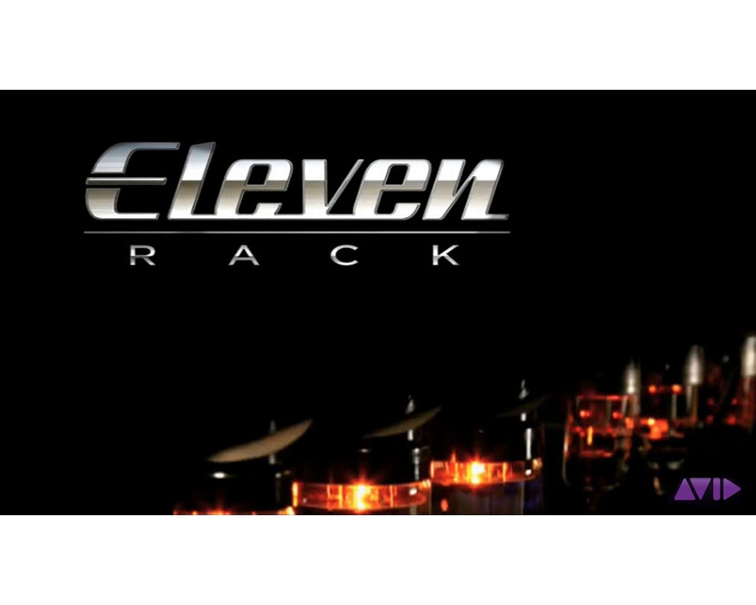 AVID Digidesign ELEVEN RACK Guitar Rack Processor