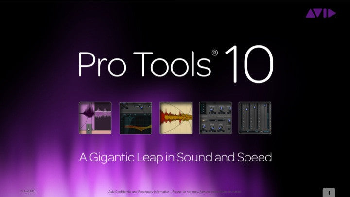 Pro Tools 10/11/12 w/ iLok USB Key and USB Installer Drive (used)