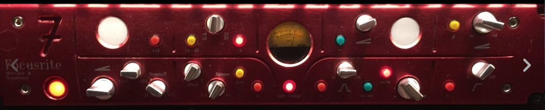 Focusrite Red 7 Mic Pre Amp Compressor