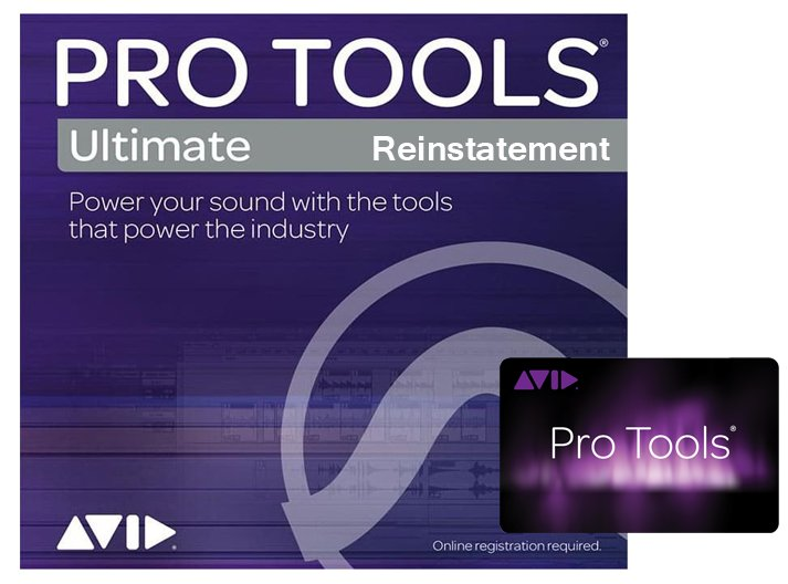 Avid Pro Tools Ultimate Upgrade Plan for Pro Tools Reinstatement