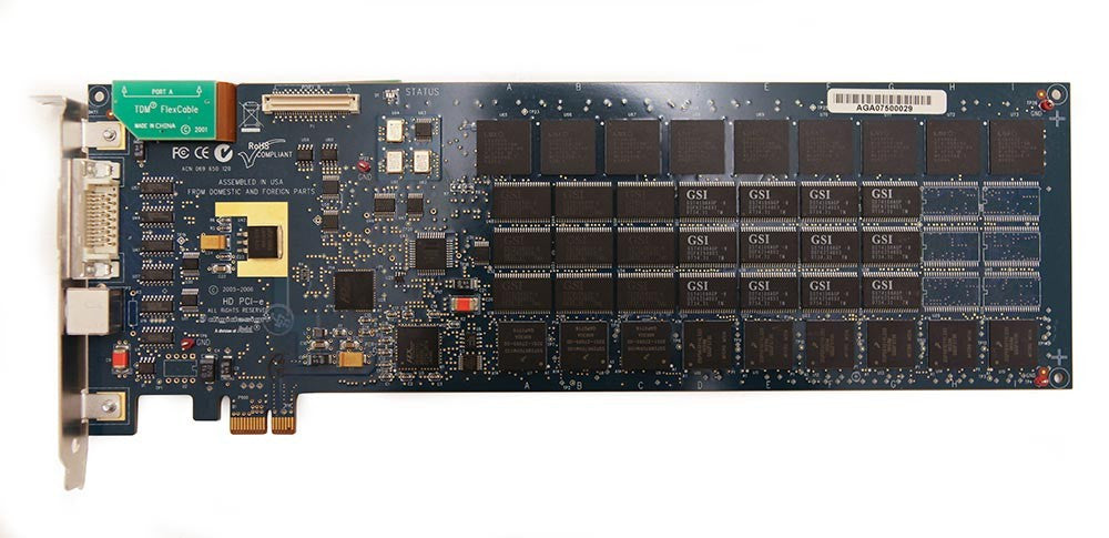 Digidesign Pro Tools HD TDM Accel PCIe DSP Card