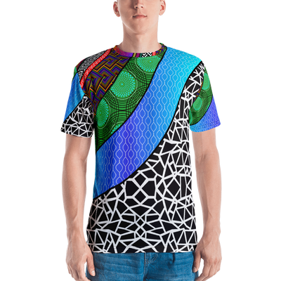 All-Over Print Men's Crew Neck T-Shirt-Armour