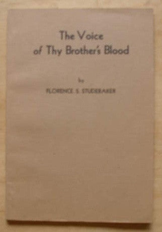 The Voice of Thy Brother's Blood