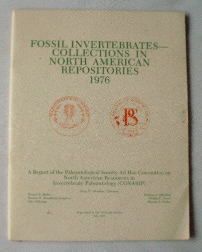 Fossil Invertebrates - Collections in North American Repositories 1976