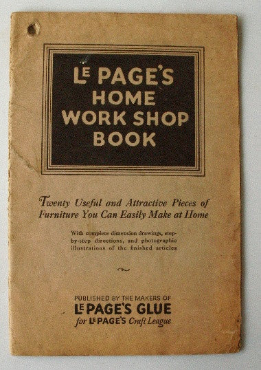 Le Page's Home Workshop Book