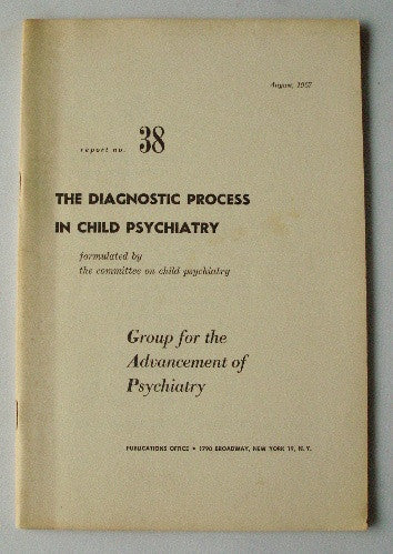 The Diagnostic Process in Child Psychiatry