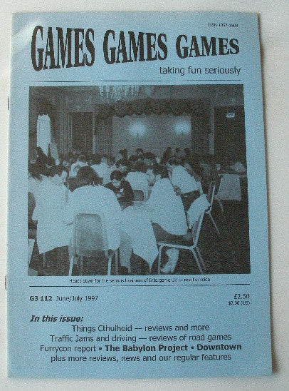 Games Games Games Issue 112 June/July 1997