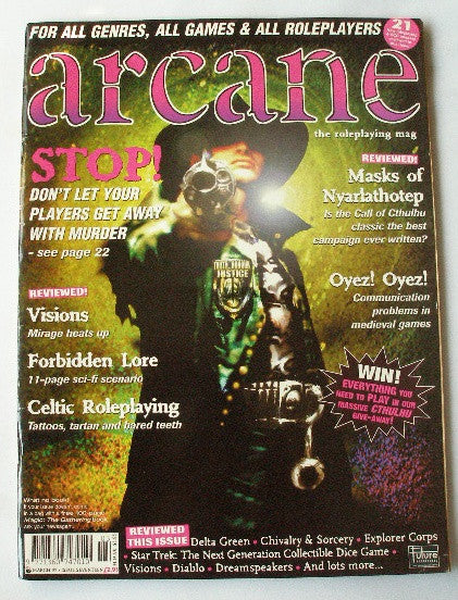 Arcane The Roleplaying Mag - Issue 17 - March 1997