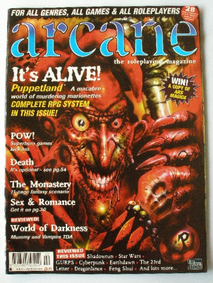 Arcane The Roleplaying Mag - Issue 16 - February 1997