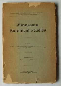 A Contribution to the bibliography of American algae - Geological and Natural History Survey of Minnesota - Bulletin #9 Part VI