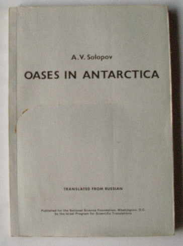 Oases in Antarctica - Meteorology No. 14