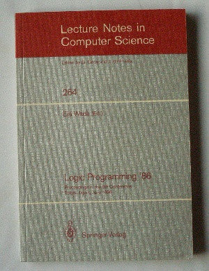Logic Programming '86 - Proceedings of the 5th Conference - Tokyo, Japan, June 1986