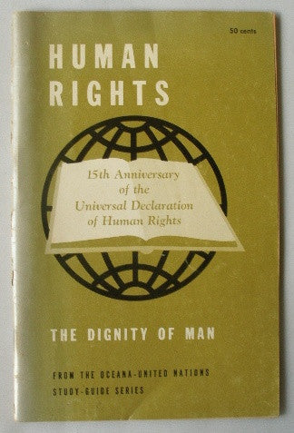 Human Rights: The Dignity of Man